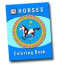 All Natural Horse Care Coloring book